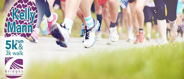 Virtual Kelly Mann Memorial 5K and 3K Fun Run/Walk