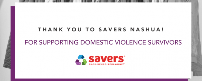 Thanks to Savers Nashua