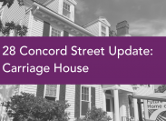 New Building Update: Carriage House